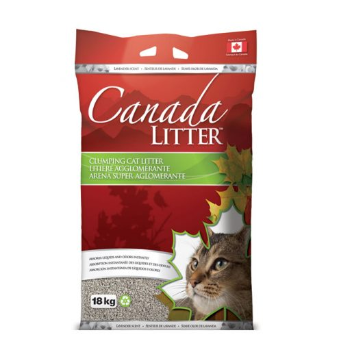 Canaday Littler lavender scented clumping cat litter