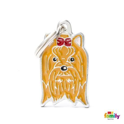 Yorkshire Name Tag, Paws & Claws Pets