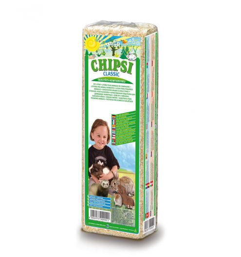 CHIPSI Classic Pet Bedding 15L, Paws & Claws Pets