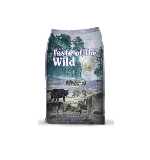 180 sierra mountain canine formula 2.27kg taste of the wild
