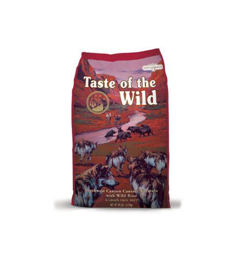 southwest canyon canine formula 2.27kg taste of the wild dry dog food