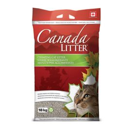 canada litter baby powder super absorbing clumping cat litter