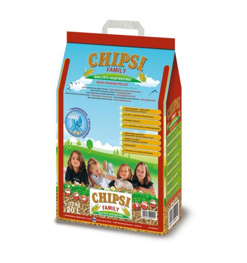 CHIPSI Family All Pets Bedding 20L, Paws & Claws Pets