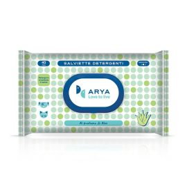 Arya Wet Wipes Aloe