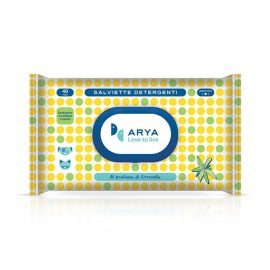 Arya Wet Wipes Lemongrass 40 wipes