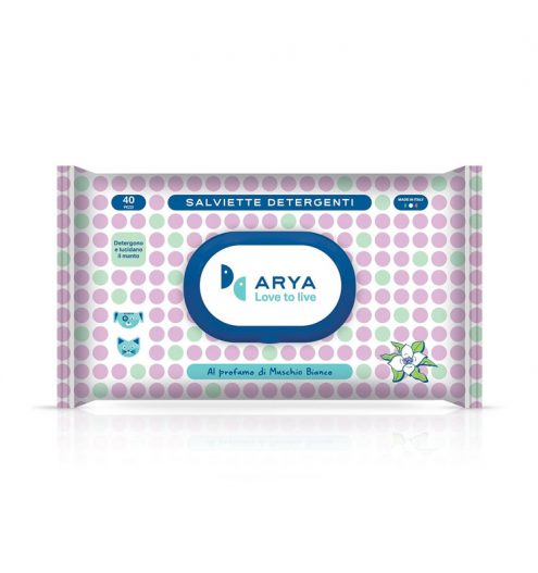 Arya Wet Wipes White Musk