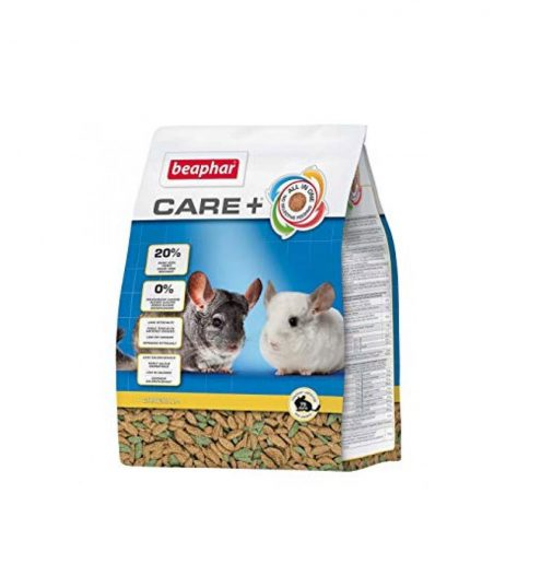 Chinchilla Food Care+ 1.5kg, Paws & Claws Pets