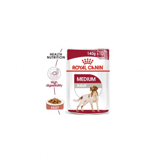 Royal Canine Medium Adult in Gravy