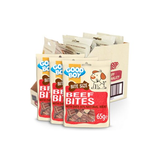 Good Boy Beef Bites 65g, Paws & Claws Pets
