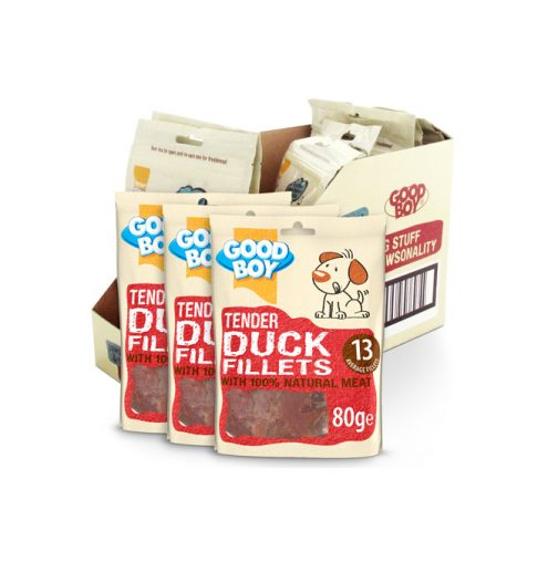 Good Boy Tender Duck Fillets 80g, Paws & Claws Pets