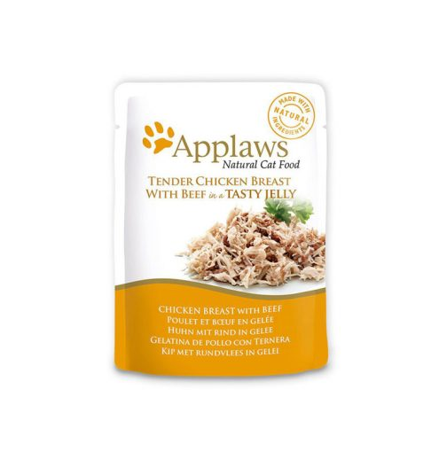 Applaws Cat Chicken with Beef 70g, Paws & Claws Pets
