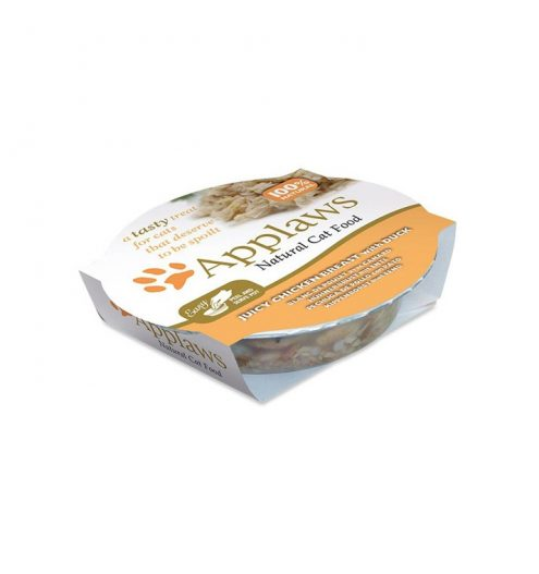 Applaws Cat Chicken with Duck Pot 60g, Paws & Claws Pets