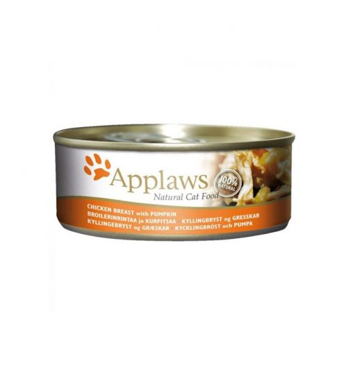 Applaws Cat Chicken with Pumpkin 156g Tin, Paws & Claws Pets