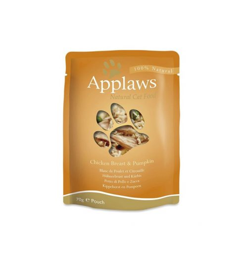Applaws Cat Chicken with Pumpkin 70g Pouch at Paws & Claws Pets P&C