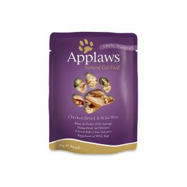 Applaws Cat Chicken with Rice complimentary food available at Paws & Claws Pets Dubai