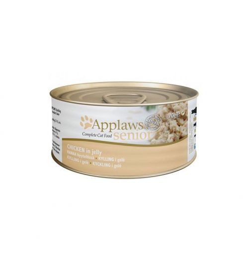 Applaws Cat Senior Chicken Jelly 70g Tin wet cat food at Paws & Claws