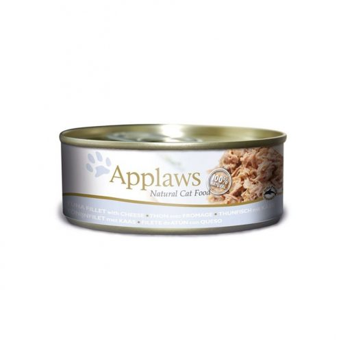 Applaws Cat Tuna with Cheese 156g Tin, Paws & Claws Pets