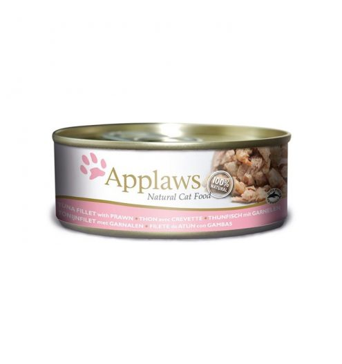 Applaws Cat Tuna with Prawn 156g Tin, Paws & Claws Pets