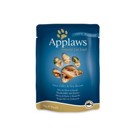 Applaws Cat Tuna with Seabream 70g Pouch @ P&C pets