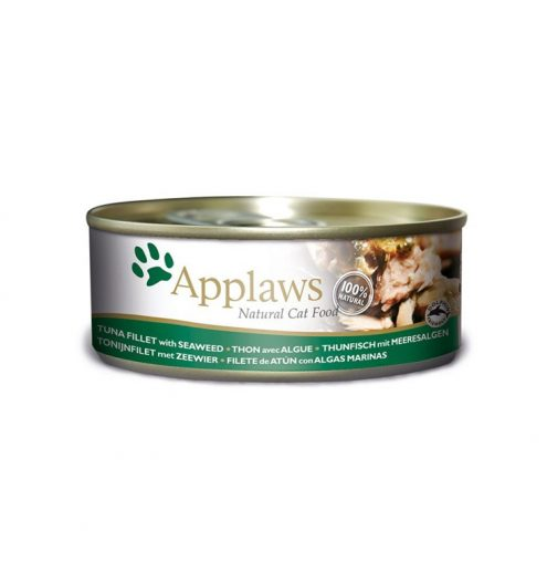 Applaws Cat Tuna with Seaweed 156g Tin, Paws & Claws Pets