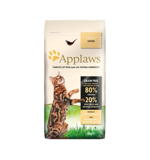 Applaws Chicken Dry Adult Cat Food 2kg, Paws & Claws Pets