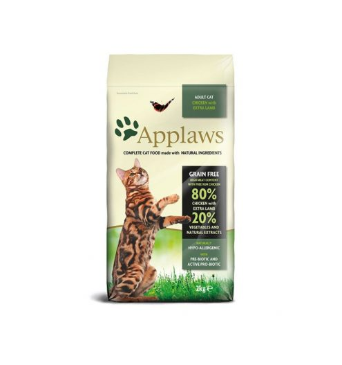 Applaws Chicken & Lamb Dry Adult Cat Food 2kg, Paws & Claws Pets
