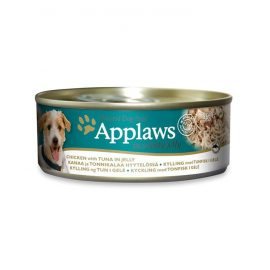 Applaws Dog Chicken with Tuna in Jelly 156g Tin