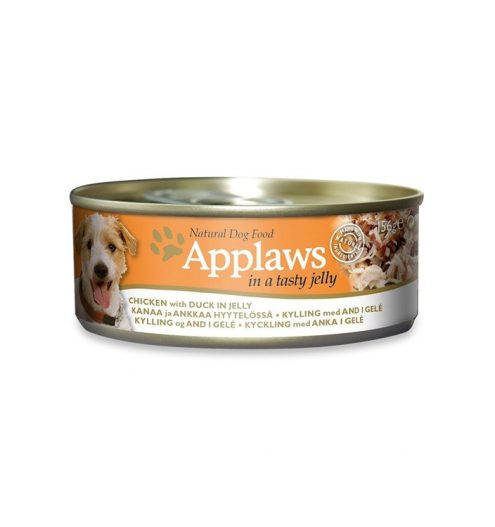 Applaws Dog Chicken with Duck in Jelly 156g, Paws & Claws Pets