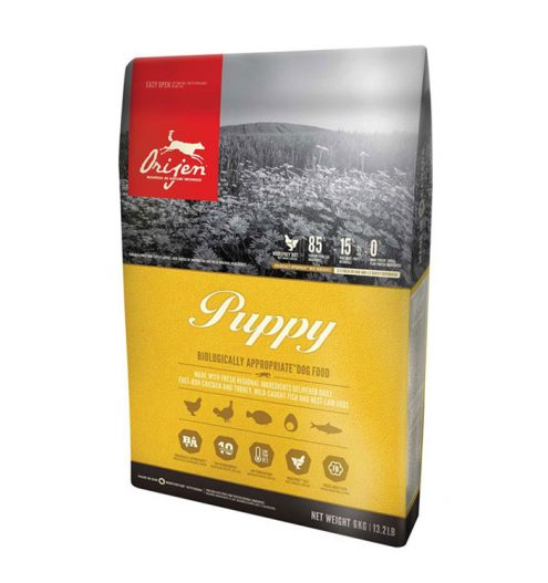 orijen puppy dry puppy food in dubai paws & claws pets 11.4kg