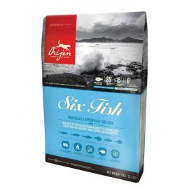 Orijen Six Fish Dog dry food for all dogs 11.4kg