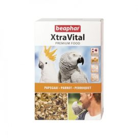 beaphar xtravital parrot food 1kg paws & claws pet shop