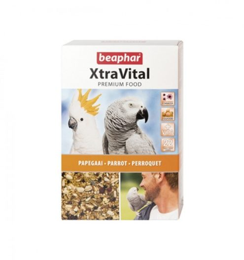 Beaphar Xtravital Parrot food 1kg, Paws & Claws Pets