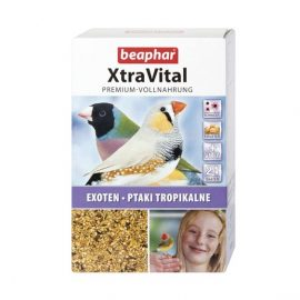 Beaphar Xtravital Tropical Bird feed 1kg bird food at Pawsandclaws Petshop Mirdif Dubai UAE