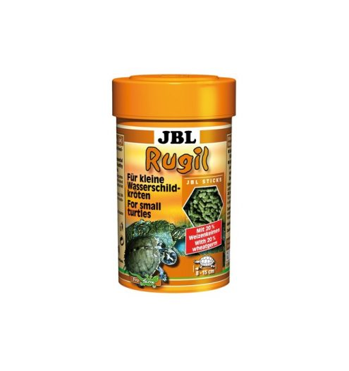 JBL Rugil Small Turtle food 100ml turtle food terrapin food rugil reptile dry food