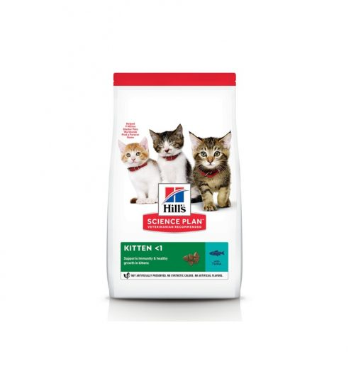 Hills Science Plan Kitten with Tuna 1.5kg, Paws & Claws Pets
