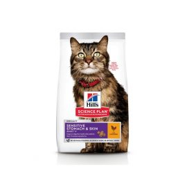 Hill's science plan Feline Adult Cat Sensitive Stomach & Skin with Chickenat best pet shop in dubai