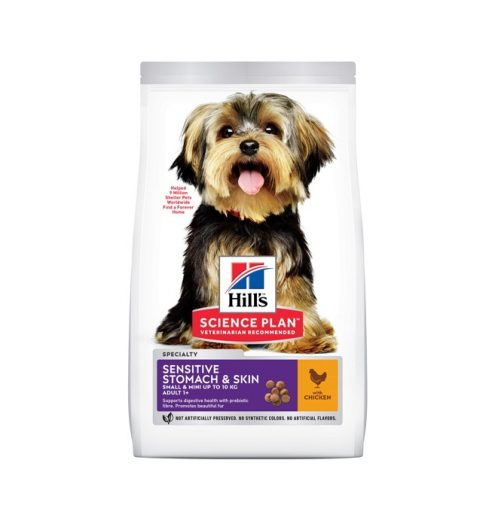 Science Plan Canine Adult Sensitive Stomach & Skin Medium with Chicken