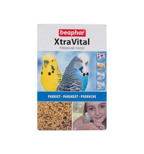 Beaphar Xtravital Parakeet Bird Food 500g, Paws & Claws Pets