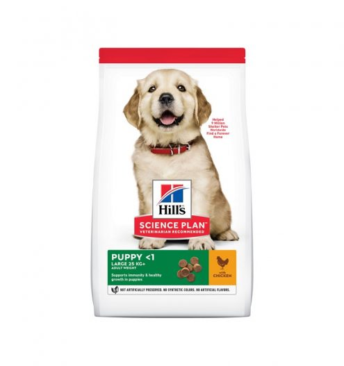 Hill's Science Plan Large Breed Puppy with Chicken, Paws & Claws Pets