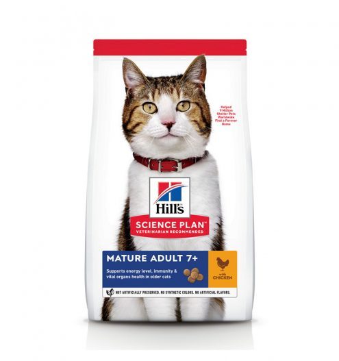 Hill's Science Plan Mature Adult 7+ Cat with Chicken