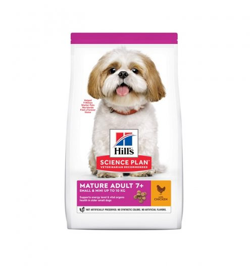 Hill's Small & Mini Mature Dog with Chicken, Paws & Claws Pets
