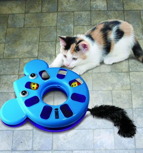 Kong Cat Toy Puzzle Mouse, Paws & Claws Pets