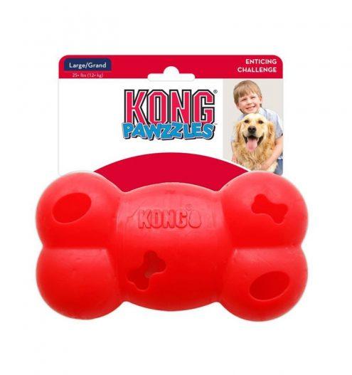 Kong Pawzzles Bone, Paws & Claws Pets