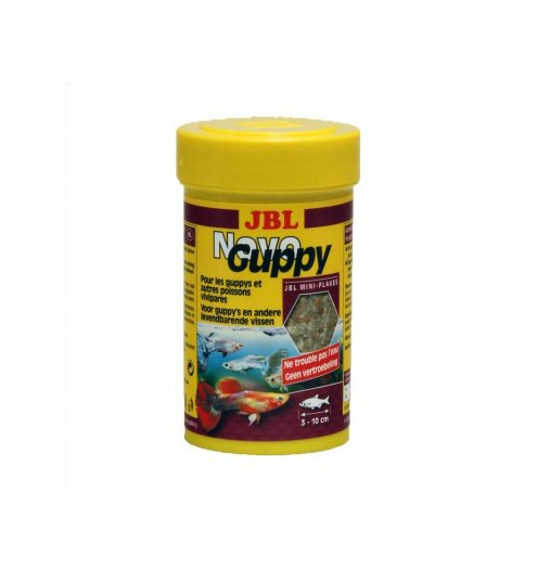 JBL Novo Guppy 100ml, Paws & Claws Pets