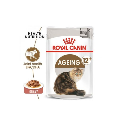 Ageing 12+ Wet Food in Gravy 85g, Paws & Claws Pets