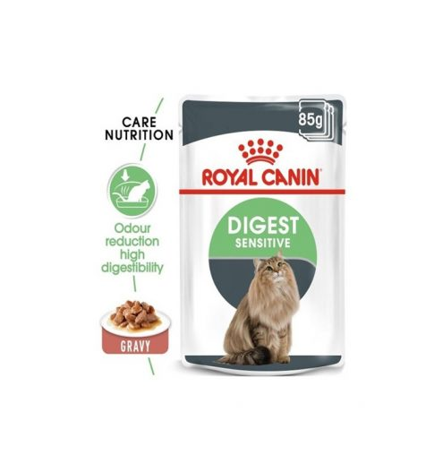 Digest Sensitive in Gravy Pack of 85g, Paws & Claws Pets