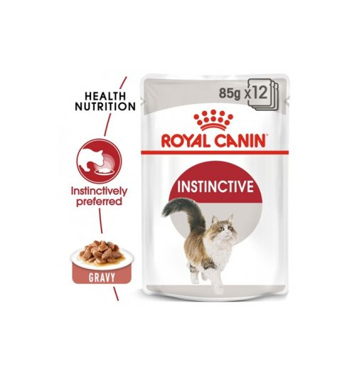 Instinctive adult in Gravy Pack of  12x85g, Paws & Claws Pets