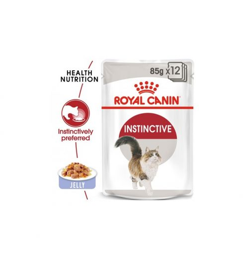 Instinctive adult in Jelly Pack of  12x85g, Paws & Claws Pets