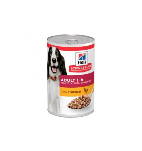 Hill's Adult Dog with Chicken 370g, Paws & Claws Pets