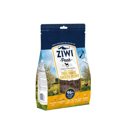 Ziwi Peak Air Dried Chicken Dog Food 1kg, Paws & Claws Pets
